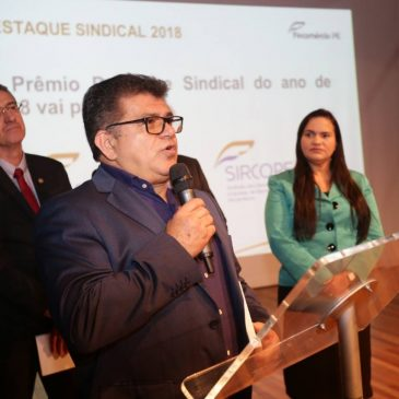 Sincopeças PE recebe, pelo terceiro ano consecutivo, o prêmio de Sindicato Destaque