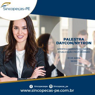 Palestra Daycon/Nytron – Aperfeiçoamento Tecnológico e Atualização Profissional