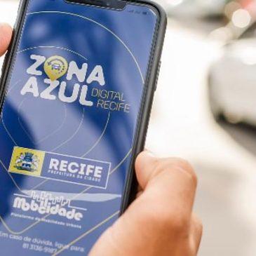 A partir de hoje, Zona Azul só digital no Recife